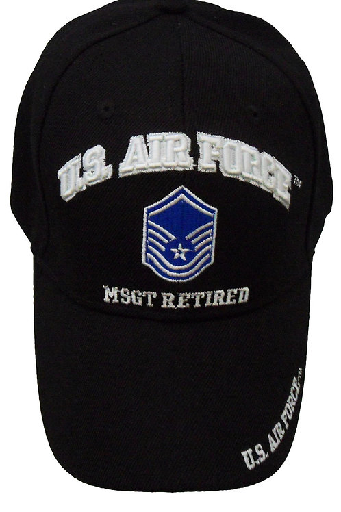 US Air Force MSGT Retired SKU 657