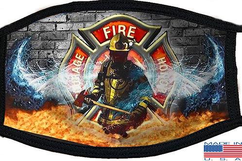 Fire Fighter Black Mask 2146
