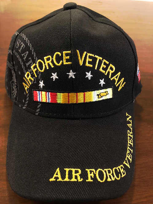 12 US Air Force Vet Hats SKU 421 Only $2.99 Each