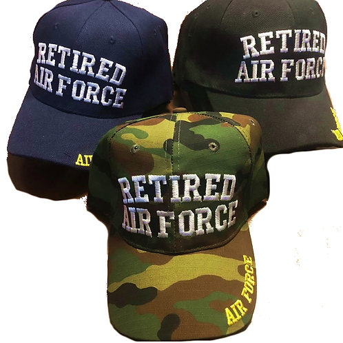 12 US Air Force Retired SKU 775 Only $2.75 Each