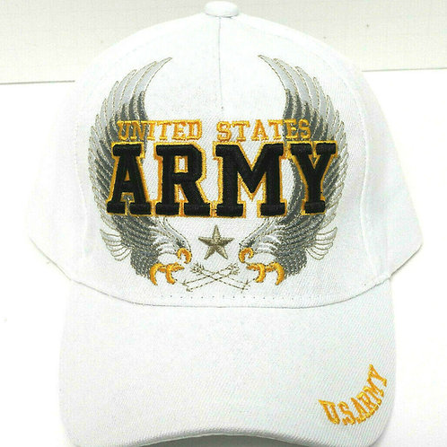 US Army White SKU 884