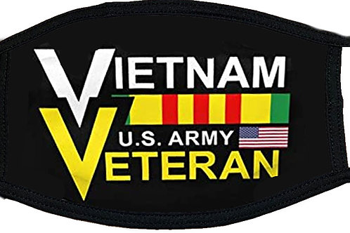 US Army Vietnam Veteran Black Mask 2161