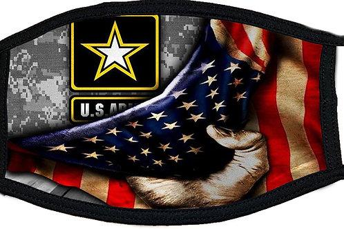 Army Flag Black Mask 2087