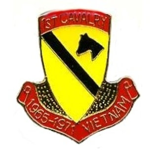 1st Cavalry, 1965 - 1971 Vietnam SKU 1110