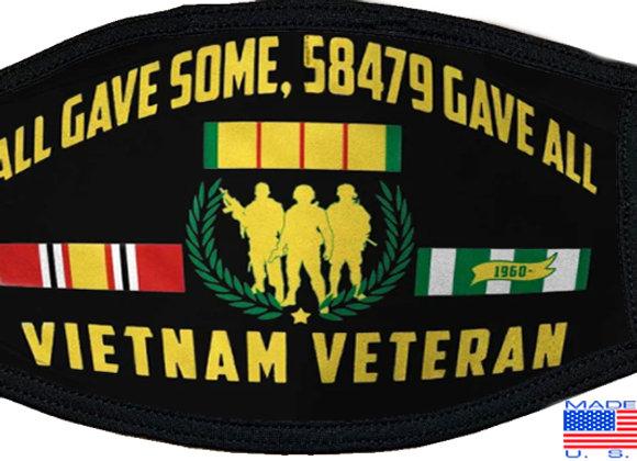 Vietnam Veteran Mask $4.50 Each (Dozen)