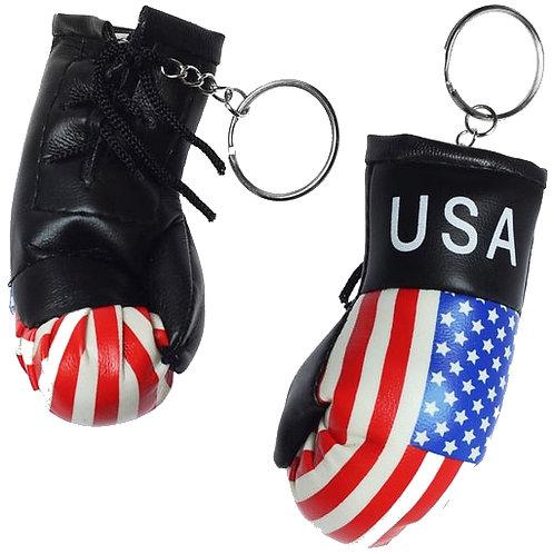 American Flag Gloves KeyChain $1.25 Each(Dozen) SKU 2055