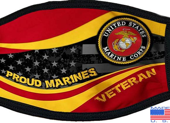US Marine Veteran Mask $4.50Each (Dozen)