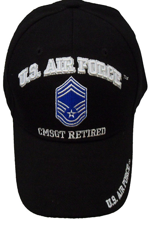 US Air Force CMSGT Retired SKU 656