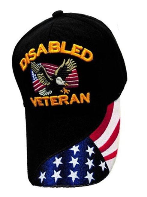Disabled Veteran Black SKU 882