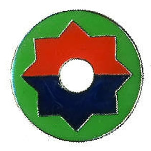 9th Infantry Division SKU 1045