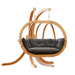 Chair - Wooden Globo Hanging Chair 3
