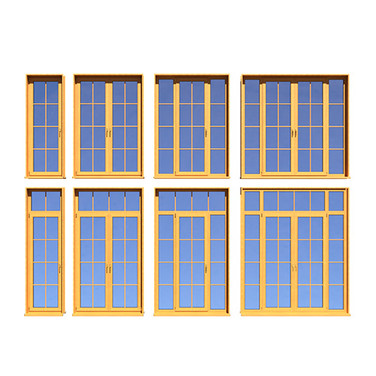 French Doors - Collection Of 8 Variation