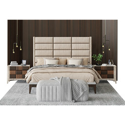 Agnese Dama Luxury Bed - Bedroom Scene