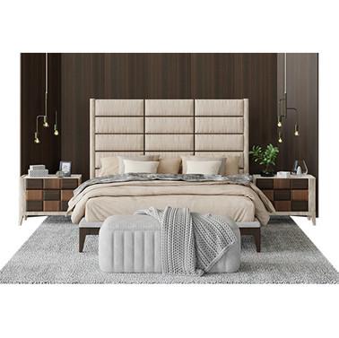 Agnese Dama Luxury Bed - Bedroom Scene
