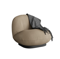 Pacha Lounge Chair By Gubi gray