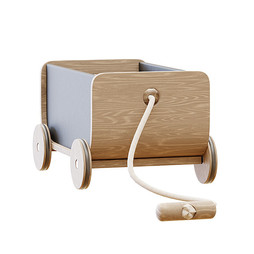 Toy - Wooden Wagon Pull Toy By Plan Toys