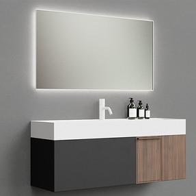 Bathroom Sink Set - Stylish Sink With Mirror.jpg