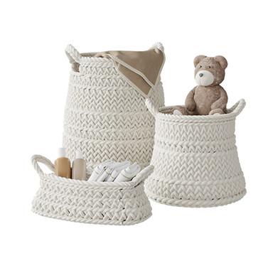 Pottery Barn Kids Ivory Chunky Knit Nurs