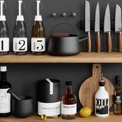 Kitchen Decorations Set
