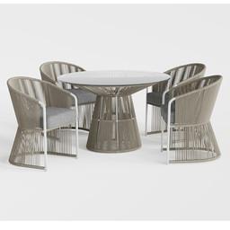 TIBIDABO Table_TIBIDABO Dining armchair