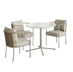 Mini Cafe Armchairs With Living Divani T