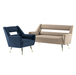 Minotti Ile - Armchair + Sofa