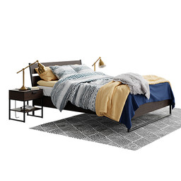 Trysil Ikea Double Bed