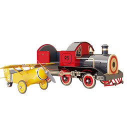 Decor - Pottery Barn Kids Ride-Ons Plane And Train