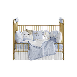 Rose Gold Incy Interiors Ellie Cot 02