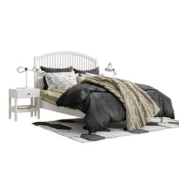Tyssedal Ikea Double Bed