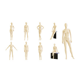 mannequins - 10 poses