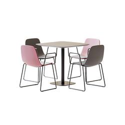 Table Set - Metallic Square Table Doll 7