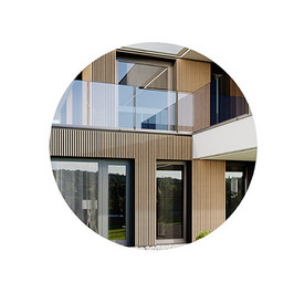 DETAIL - Modern 2 Staired House 05