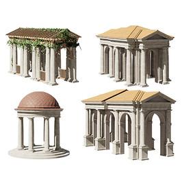 Antic Tuscan Order - Portico, Rotunda