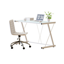 Office Set - Office Set With Computer And Plant 2