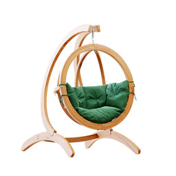 Chair - Wooden Globo Hanging Chair