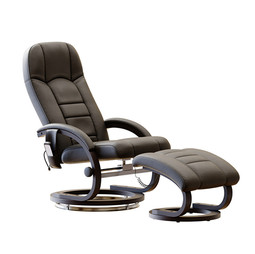 Essential Home Supply Malandi Massage Chair And Ottoman In 2 Colors