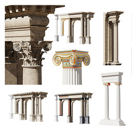 Antic Order Pack - Pillars And Archs