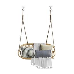 Swing - Hanging Rattan Swing Bench