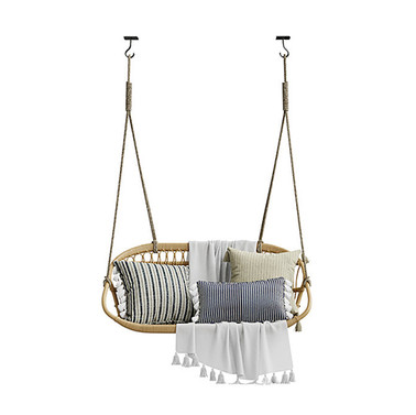 Swing - Hanging Rattan Swing Bench