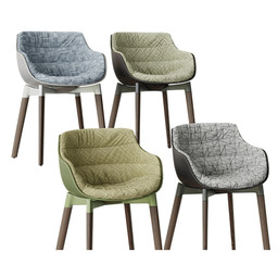 Mdf Flow New Armchair (2 Types)