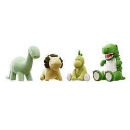 Toys - Plush Toys 03 Four Kinds Of Plushie Dinosaurs