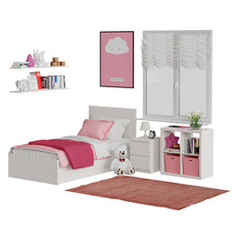 Universal childrens room pink