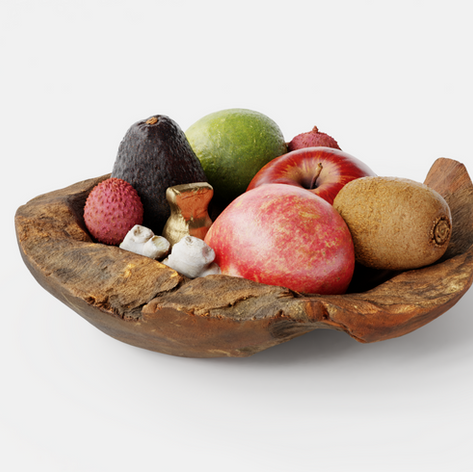 Photoscanned fruits by Oliver Harris and 3D Shaker