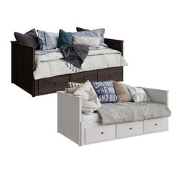 Daybed Ikea Hemnes 2 beds
