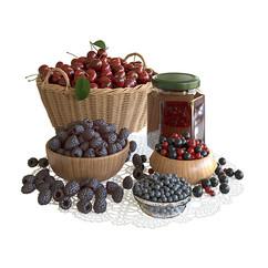 fruit berry decor