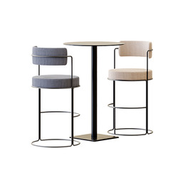 Table Set - High Table Edge T By Colos W