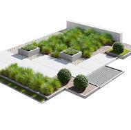 Urban Environment - Entrance Group