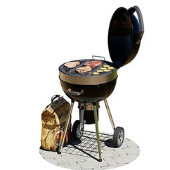 Napoleon Pro Charcoal Garden Kettle Grill