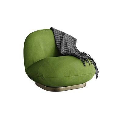 Pacha Lounge Chair By Gubi green